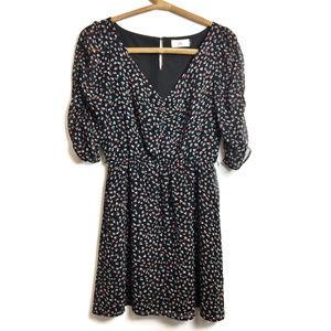 DV Dolce Vita   Black floral dress   Small